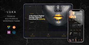 Luxa   A Luxury Black MultiPurpose WordPress Theme