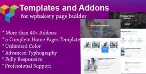 Modèles et addons pour WPBakery Page Builder