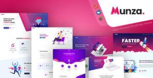 Munza - MultiPurpose Isometric WordPress Theme
