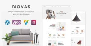 Novas | Furniture Store and Handmade Shop WordPress Theme