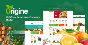 Origine - Organic Theme for WooCommerce WordPress