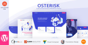 Osterisk: VOIP & Cloud Services WordPress Theme