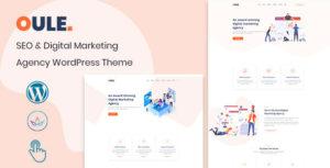 Oule – SEO and Digital Marketing Agency WordPress Theme