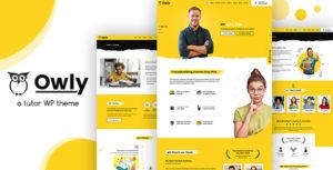 Owly - Tutor, eLearning WordPress Theme