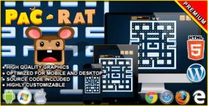 Pac-Rat - HTML5 Arcade Game