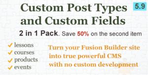Pack de contenu personnalisé pour fusion Builder