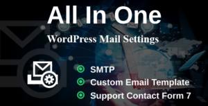 Paramètres de messagerie WP-manquant paramètres WordPress