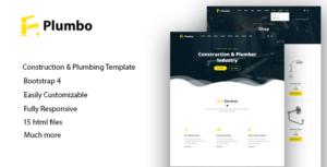 Plumbo - Responsive HTML5 Template