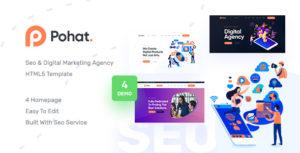 Pohat - SEO & Digital Marketing Agency HTML5 Template