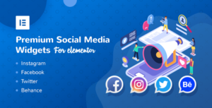 Premium Social Media Widgets for Elementor