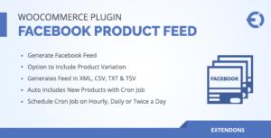Produit WooCommerce Facebook Feed Plugin