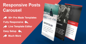 Réactif de messages carrousel WordPress Plugin