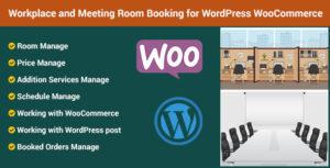 Réservation de salle de réunion et de lieu de travail pour WordPress WooCommerce