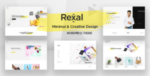 Rexal - A Colorful and Modern Multipurpose Portfolio WordPress Theme