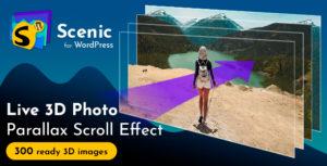 Scenic 3D Photo Parallax WordPress Plugin v1.5