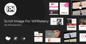 Scroll Image For WPBakery Page Builder (Visual Composer)