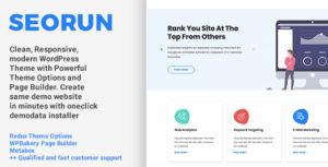 Seorun - SEO Agency & Digital Marketing WordPress Theme