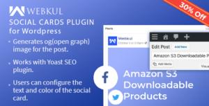 Social Cards Plugin for WordPress