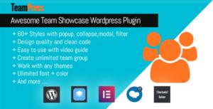 TeamPress-plugin Team Showcase
