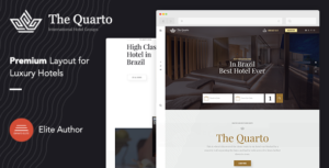 The Quarto - Responsive Modern WordPress Hotel Theme
