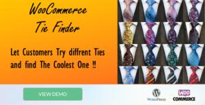 """Tie Finder """"WooCommerce plugin"""""""