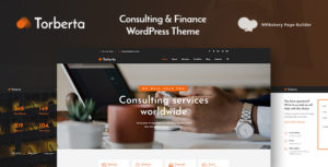 Torberta - Consulting & Finance WordPress Theme