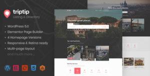 TripTip - Directory & Listing WordPress Theme