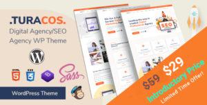 Turacos - Digital Agency/SEO Agency WordPress Theme