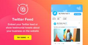 Twitter feed-WordPress plugin Twitter