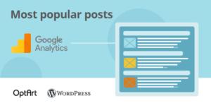 WP Analytify Top shortcodes de contenu