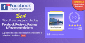 WP Facebook Review Showcase - FB Page Review Plugin for WordPress