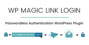 WP Magic Link login-authentification sans mot de passe WordPress plugin