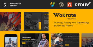 Wokrate – Industry & Factory WordPress Theme