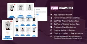 WooCommerce Wishlist plugin-plugin WordPress pour WooCommerce