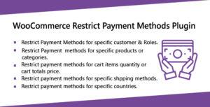 WooCommerce limiter les Plugins de méthodes de paiement