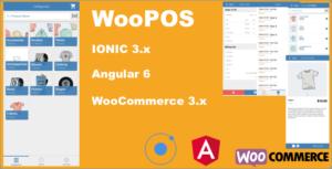 WooPOS Point de vente avec IONIC. + Woocommerce