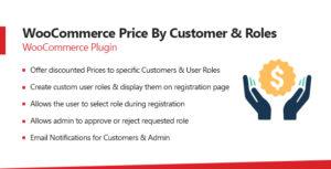 Woocommerce Price par le client et les rôles d'utilisateur