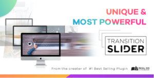 WordPress Plugin de transition Slider