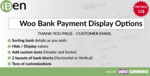 iBen - Woo Bank Payment Display Options