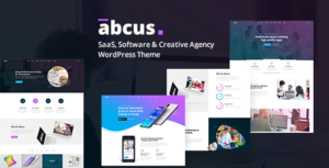 Abcus - App, Software & SaaS Startup WordPress Theme