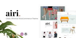 Airi - Clean, Minimal WooCommerce Theme