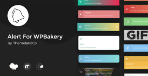 Alert For WPBakery Page Builder(Visual composer)