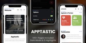 Apptastic Mobile   Mobile Template