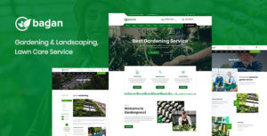 Bagan - Lawn & Garden Landscaping HTML Template