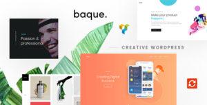 Baque - Multipurpose Onepage Creative WP Theme