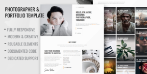 Betiso - Photography and Portfolio Template