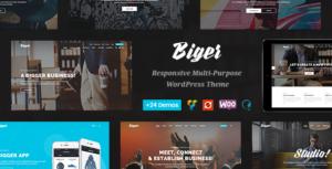 Biger - Responsive Multi-Purpose WordPress Theme