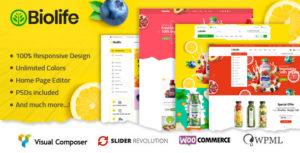 Biolife - Organic Food WordPress Theme