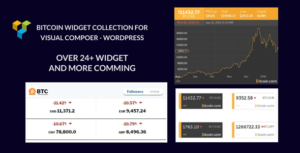 BitCoin | Crypto | Crypto Currency | Widget Collection For WordPress – visual composer add-ons