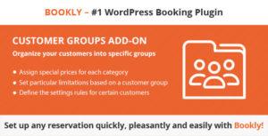 Bookly Customer Groups (Add-on)